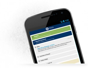 FEMA Smartphone Application